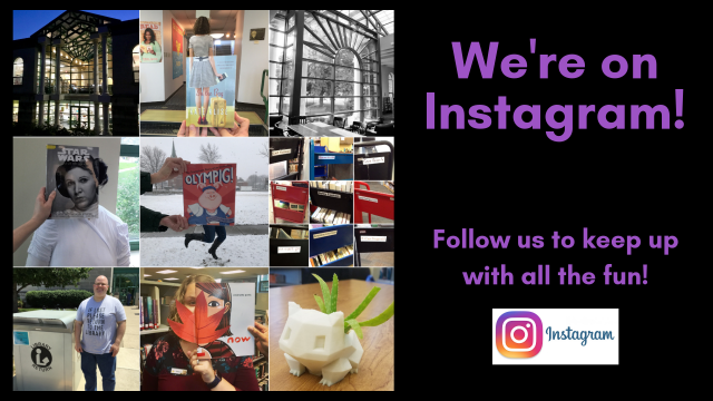 We're on Instagram - Follow us to keep up with all the fun!