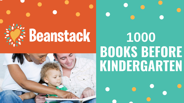 Register Now for 1000 Books Before Kindergarten