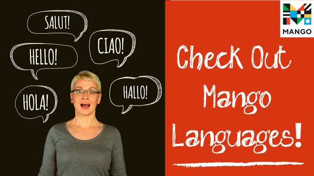 Featured Resource: Mango Languages
