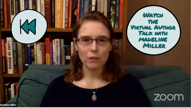 Virtual Author Talk with Madeline Miller