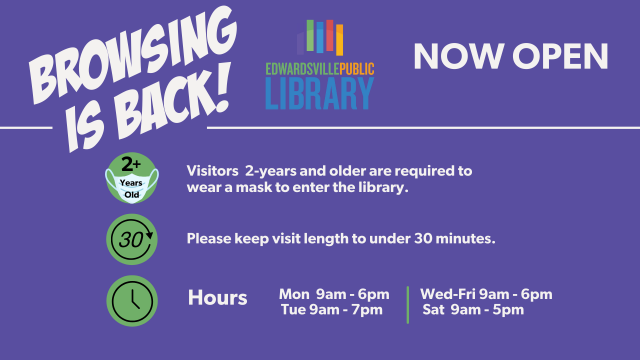 Browsing is Back Reopening January 2021