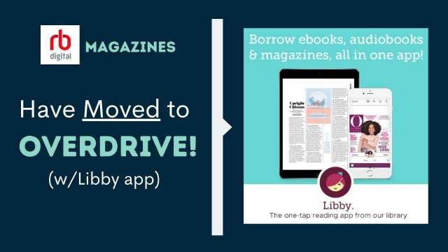 Now Overdrive Magazines