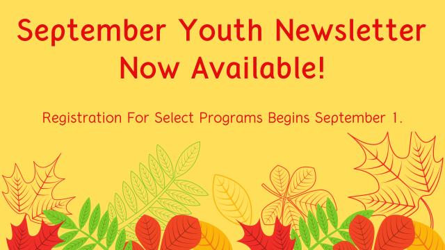 September 2020 Youth Newsletter 1