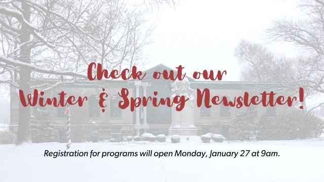 Winter Spring Newsletter 2020