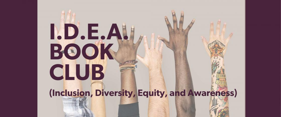 I D E A Book Club Website Header