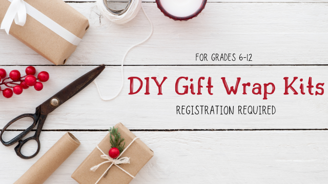 DIY Gift Wrap Kits