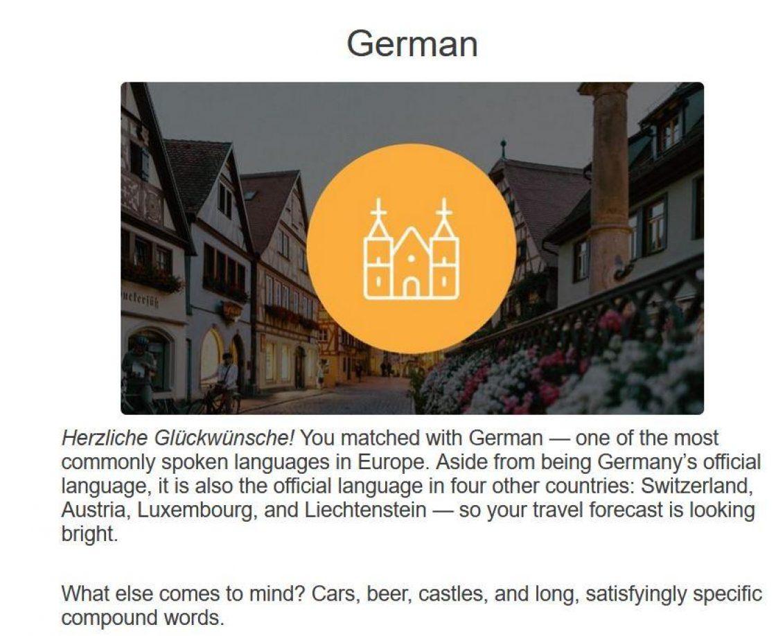 German Result